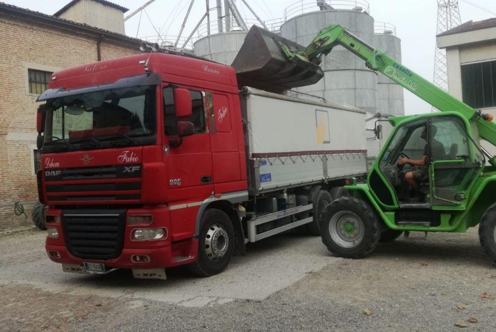 trasporto cereali alborghetti nord italia